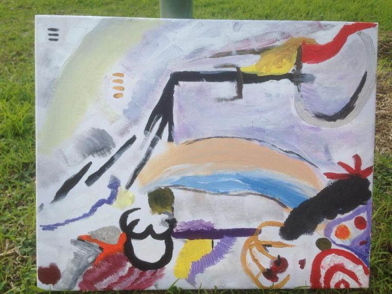 Gabis painting